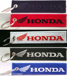 Honda Motorcycles Key Chain, Motorbikes, Bikers