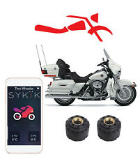 SYKIK Rider Wireless tire pressure monitoring system for motorcycles.