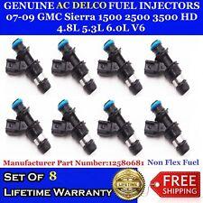 NON-FLEX OEM ACDelco Injectors 07-09 GMC Sierra 1500 2500 3500 HD 4.8 5.3 6.0L