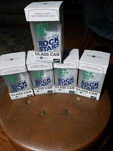 Video Game Glass Cans (5) New in Box