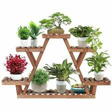 Lovely Wooden Plant Stand Garden Display Bonsai Flower Pot Holder Rack Shelves