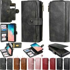 Detachable Magnetic Leather Wallet Case Cover For Samsung S20 S10 S9 S8 Note 10+