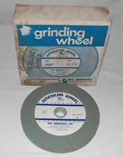 "American Wheel 10"" X 1"" X 1-1/4"" GC80 Grinding Wheel Arc Abrasives"