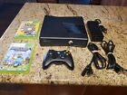 Microsoft Xbox 360 S Model 1439 320GB Console  Bundle: Controller Cables Games