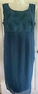 DANA KAY Women's Dress Size 18W, Sleeveless, Plus Size, Glitter Accent,Lined D31