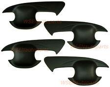 Ford Ranger Black Door Handle Matte Matt Insert Cover Trim Wildtrak 2012 to 2017