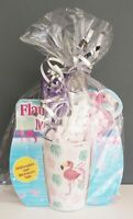 Cadbury's Hot Chocolate & Flamingo Leaf Mug Gift Set Birthday Thank you