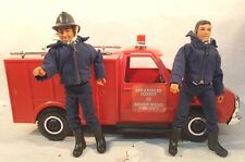 Emergency TV Show Rescue Squad Dept 51 Truck LJN Gage Desoto Los Angeles Mego