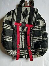 woolen/cotton  bagpack