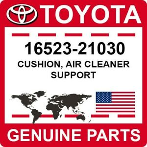 16523-21030 Toyota OEM Genuine CUSHION, AIR CLEANER SUPPORT