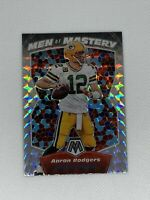 AARON RODGERS 2020 Panini Mosaic Silver Men Of Mastery Prizm