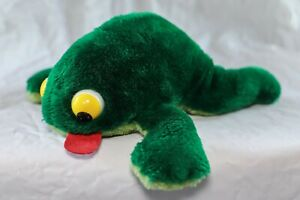 Vintage Fleegle Frog by Russ Berrie Co. Nut Shell Stuffing