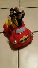 The Wiggles Big Red Car 2003 Spin Master Original Characters - Musical Toy-RARE!