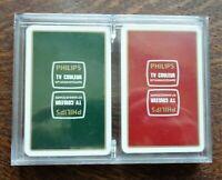 ancien jeu de carte grimaud publicitaire philips 10ème anniversaire