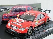 AMG MERCEDES C-KLASSE MODEL CAR BERND SCHNEIDER TOURING 1:43 RED IXO ALTAYA R01
