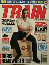 Train Chris Hemsworth Free Fitness Mag Get Stacked Mar 2015 FREE PRIORITY SHIP
