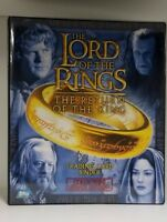 The Lord Of the Rings The Return of the King Collectible Card Binder with Promos