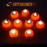 Halloween Pumpkin Ghost LED Light Candle Mini Home Garden Party Decorations