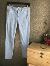 Joe's Straight Ankle Slim Fit Stretch Jeans Size W 28 Baby Blue