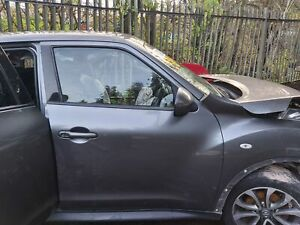Nissan Juke Dci 5 Door 2010-2018 Door Bare (front Driver Side) Grey KAD BREAKING