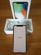 "APPLE IPHONE X 10 SILVER 64 GB 5,8"" 14,7CM DISPLAY LTE SMARTPHONE MQAD2ZD/A"