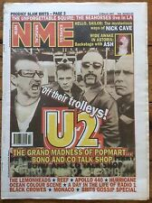 NME New Musical Express 8/3/97 U2, Nick Cave, Ash, Peter Hook, Apollo 440