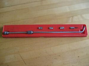 """Snap-on Blue-Point 1/4"""" Dr TM64 Carburator Adjusting Tool Sockets TM85 84 83A"""