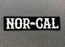 Nor Cal True North Sticker Norcal Bear 6in si