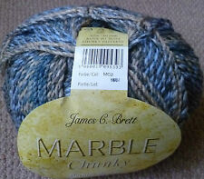 James C Brett Marble chunky Knitting Wool / Yarn 1 X 200g ball MC2