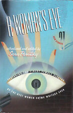 A Woman's Eye A Large Print Anthology edited by Sara Paretsky  hardcover dj