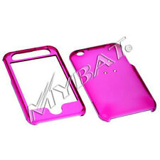 CLEAR HOT PINK MyBat Hard Protector Cover Snap On Case Skin for iPhone 3G 3GS