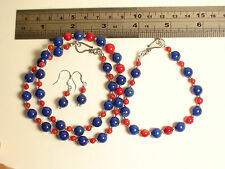 Superb Set By Augie Grey ! Untreated Afghan Lapis Lazuli Fantastic Rare Complete