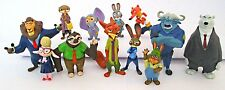 *ZOOTOPIA 12 Figure Set Disney PVC TOY Cake Topper JUDY HOPPS Nick Wilde FLASH!*