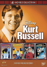 Disney Kurt Russell 4-movie Collection (dvd 2012 4-disc Ensemble)