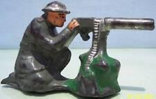 American Metal Lead Am10 German Machine Gunner Kneeling G