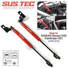 SUSTEC Front Hood Bonnet Gas Strut Damper Kit NISSAN Navara D40 / Pathfinder R51