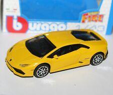 Burago - LAMBORGHINI HURACAN LP610-4 (Yellow) - 'Street Fire' Model 1:43