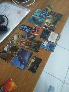 23 Panini Jurassic World Fallen Kingdom Stickers. (3 damaged rest are great)