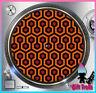 "Overlook Hotel Carpet Turntable Slipmat - 12"" LP Record Player, DJ Slipmat"