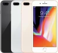 Apple iPhone 8 Plus 64GB/256GB (Factory GSM Unlocked;AT&T / T-Mobile) Smartphone
