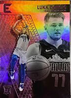 Luka Doncic Rookie RC SP #214 2018-19 Panini Chronicles Essentials Pink Parallel