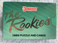 1989 DONRUSS Baseball The Rookies Puzzle and Cards Unopened Set Ken Griffey Jr