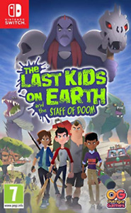 Switch-The Last Kids on Earth and the Staff of Doom /Switch (UK IMPORT) GAME NEW
