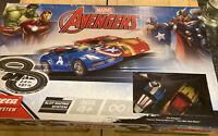 Kids Carrera Marvel Avengers Scalextric Style Toy Racing Track Set