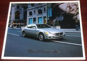 brochure 2004 MASERATI QUATTOPORTE !!! ______ german text ______________________