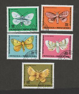 Mongolia 1966 Butterflies (5) CTO