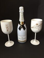 MOET Chandon Ice Imperial Champagne 0,75l 12% vol + 2 Ice Imperial Acrilico BICCHIERI