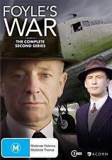 Foyle's War : The Complete Second Season (Series 2 DVD, Region 4) NEW & SEALED