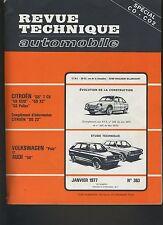 (C6)REVUE TECHNIQUE AUTOMOBILE AUDI 50 / VOLKSWAGEN POLO / CITROEN GS