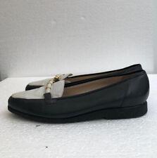 BALLY  Loafer shoes Colourblock Retro 80s 90s Slip On Comfort Leather 41 / UK 7
